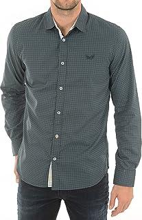 Vigo - Camisa para Hombre, Color Azul