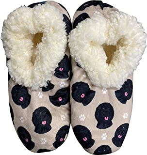 Labradoodle Super Soft Women's Slippers - One Size Fits Most - Cozy House Slippers - Non Skid Bottom - perfect for Labrado...