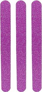 Tropical Shine Glitter Nail File Medium 180 and Fine 240 Grit. Emery Boards. Salon Boards 3 Pc.