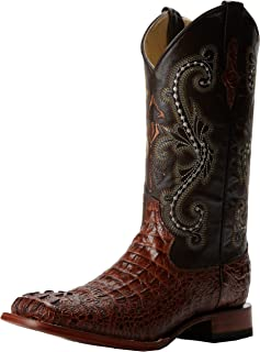 Men's Print Crocodile S-Toe Western Boot