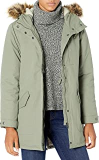 Volcom Women's Less is More 5k Faux Fur Hooded Parka