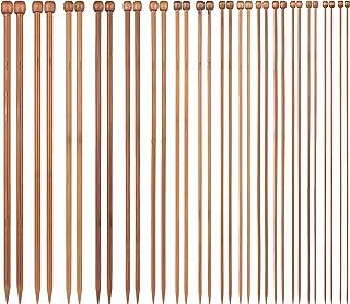 Lot de 36 crochets en bambou pour tricot, tricot, tricot, tricot, tricot, tricot, tricot, tricot