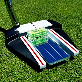 Eye Putt Pro Golf Training Aid Putting Alignment Mirror by 911 Golf | Visually Learn a Professional, Consistent & Confident Putting Setup | Eyes Over Golf Ball & Eyeline with Perfectly Leveled Putter