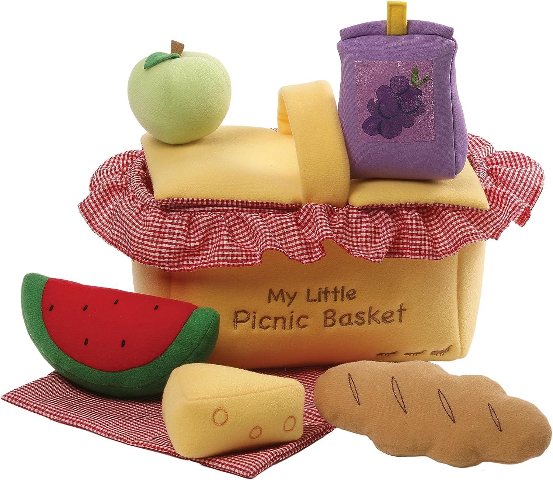 Gund My Little Picnic Basket Baby Playset