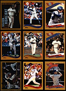 2002 Topps Baseball Card Complete Set 719 Cards Nrmt to Mint Condition