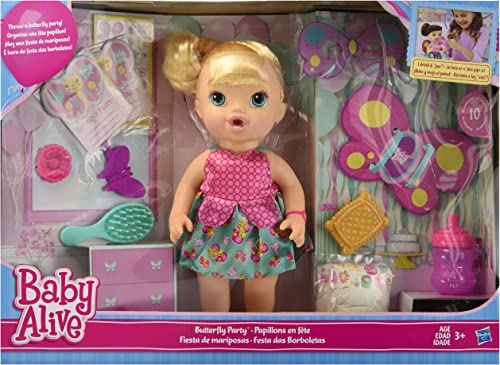 Baby Alive Butterfly Party Doll Blonde by Baby Alive