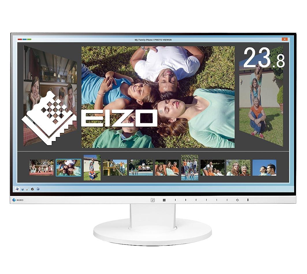 六加害者悲劇EIZO FlexScan 23.8インチ カラー液晶モニター ( 1920×1080 / IPSパネル / 5ms / ノングレア/ ホワイト ) EV2450-WTR