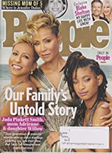 People July 8, 2019 Jada Pinkett Smith - Our Family 's Untold Story