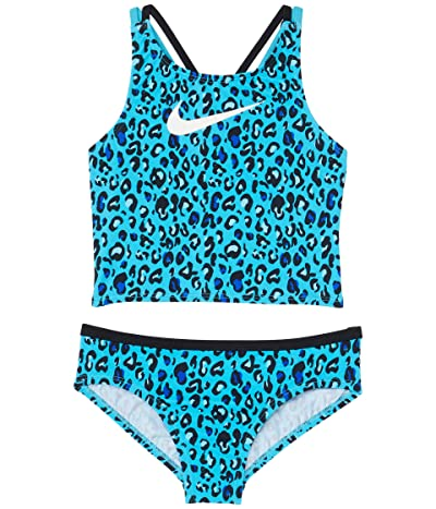 Nike Kids Cheetah Spiderback Midkini (Little Kids/Big Kids)