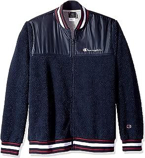 Men's Sherpa Baseball Jacket