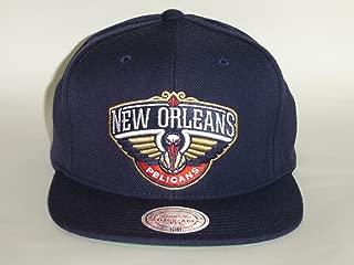 Mitchell & Ness NBA New Orleans Pelicans 1Tone Navy Snapback Cap - A1642
