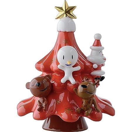 Alessi Amgi51 R Xmas Friends Décoration de Noël en Porcelaine, Décoré à la Main