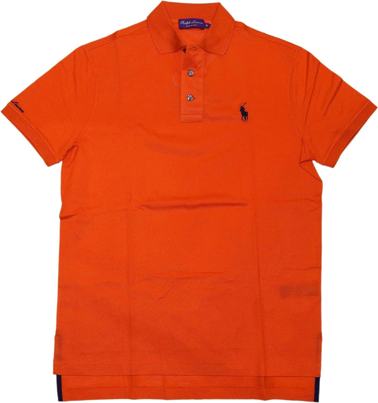 Ralph Lauren Polo Purple Label Mens Short Sleeve Directly managed Long Beach Mall store Shirt Logo Mesh