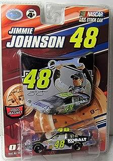 Nascar Jimmie Johnson Winners Circle #48 Lowes/Kobalt Diecast 1:64 Scale Stock Car Set - 2007 Release