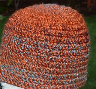 da117bd3aa8 Amazon.com  Orange - Beanies   Hats   Caps  Handmade Products