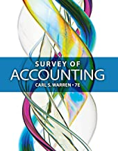 Best survey of accounting by carl s warren Reviews