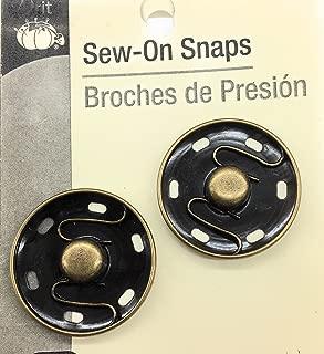 Dritz Clear Nylon Sew On Snaps 1//2 6//Pkg C17