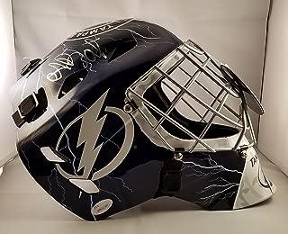 Andrei Vasilevskiy Autographed Signed Full Size Helmet Goalie Mask Tampa Bay Lightning JSA