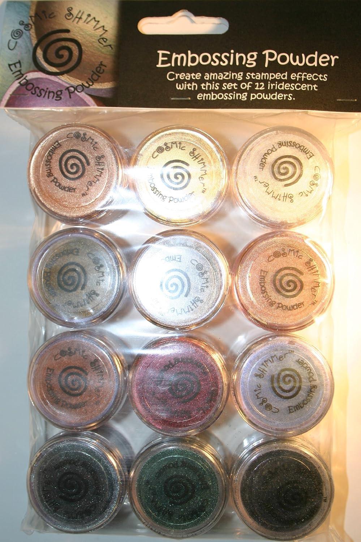 Cosmic Shimmer Embossing Powder Outlet ☆ Free Shipping Metallic Set Dark 1 year warranty