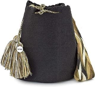 Wayuu Mochila Bags Crochet Woven Handmade Cotton Authentic Colombian Boho Bags Crossbody Colorful