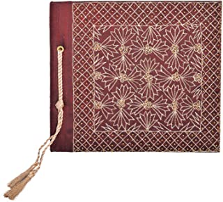In Design Fabric Handmade Paper Photo Album (EH05, Red)