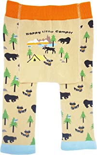 Huggalugs Baby and Toddler Moose Bear Camping Outdoors Beanie Hats, Pants Legwarmers