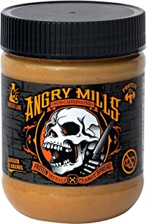 Whey Protein Non-Caffeinated PEANUT Spread by Sinister Labs - (12 oz jar) (Killer Caramel, 1-pack)