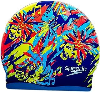 Speedo Junior Silicone Moulded Swim Cap - Exotic Designs
