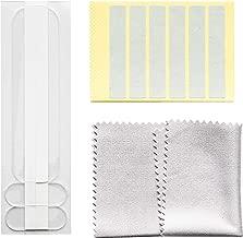 upscreen Haltelaschen und Klebestreifen für Blickschutzfilter