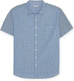 Men's Big & Tall Short-Sleeve Plaid Shirt fit by DXL