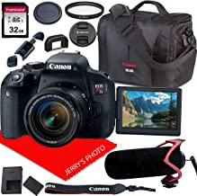 $659 » Canon EOS Rebel T7i DSLR Camera w/Canon EF-S 18-55mm F/4-5.6 is STM Zoom Lens + Video Mic + Canon Case + 32GB SD Card