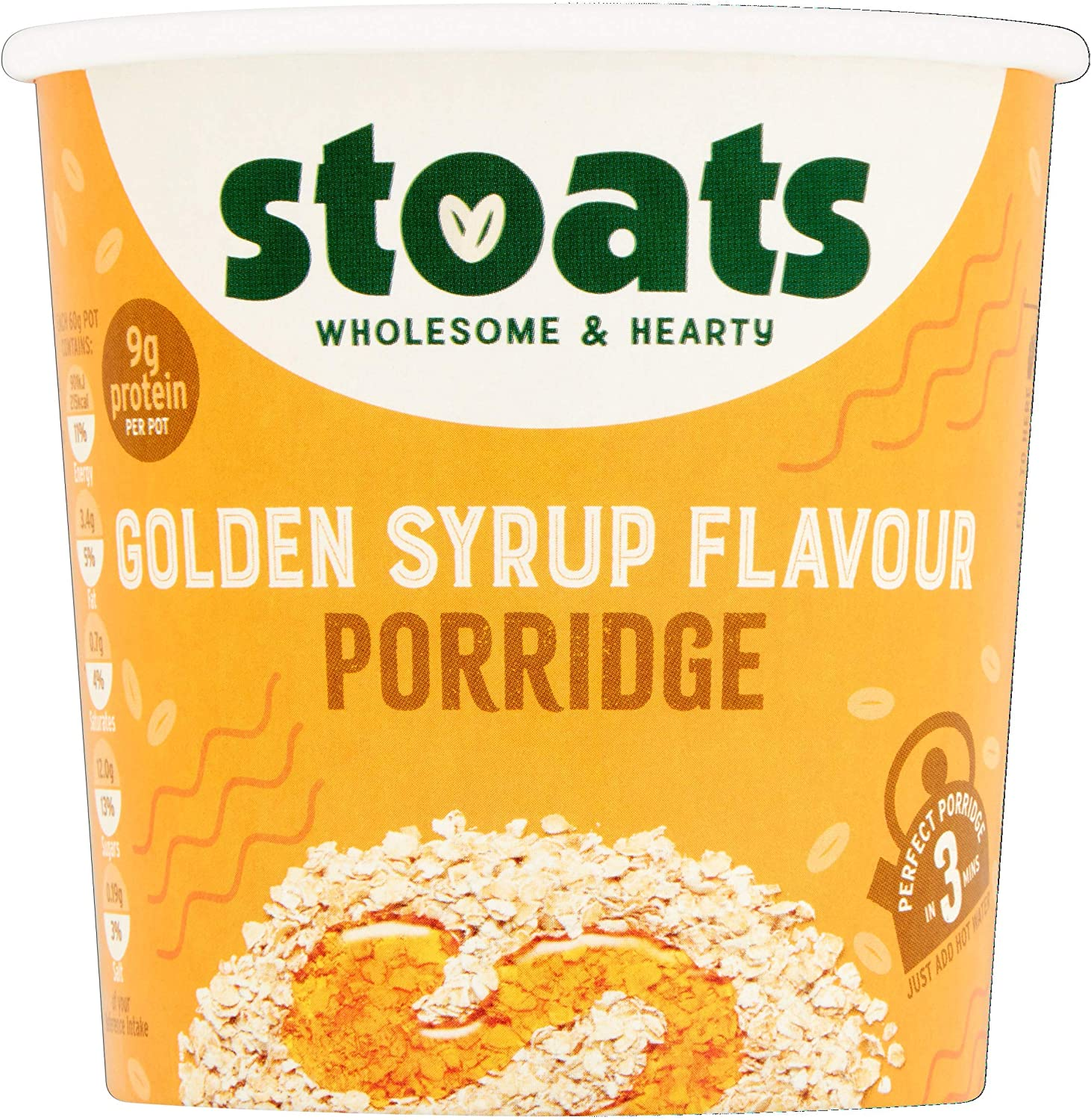 Stoats Golden Syrup Flavour Pots 20g Pack of 20  Amazon.co.uk ...