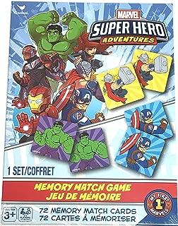 Marvel Super Hero Adventures Memory Match Game 72 Cards