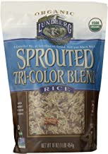Lundberg Organic Sprouted Tri-Color Blend Rice, 16 Ounce (Pack of 1)