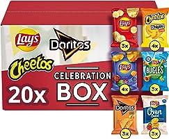 Lay's Celebration Box Chips – Lay's, Doritos & Cheetos, Doos 20 stuks
