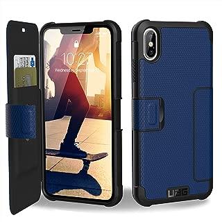 URBAN ARMOR GEAR UAG iPhone Xs Max [6.5-inch Screen] Metropolis Feather-Light Rugged Folio[Cobalt] Military Drop Tested iPhone Card Case