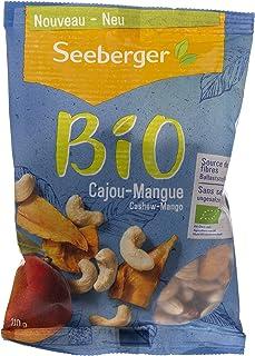 Seeberger Organic Cashew Mango, 110 gm