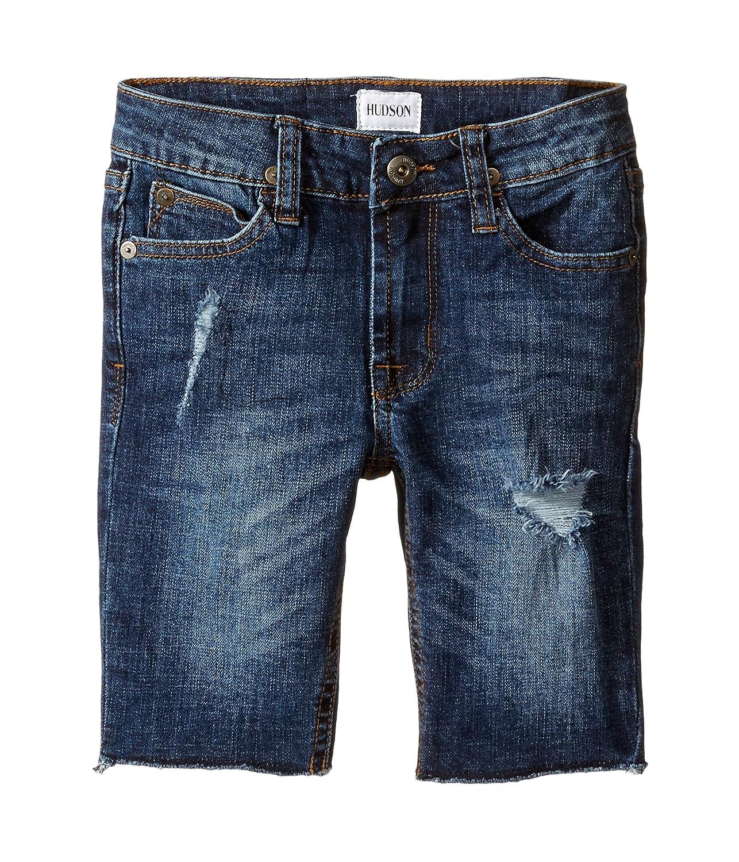 [ハドソン] Hudson Kids ボーイズ Hess Cut Off Slim Straight Shorts in Medium Stone Used (Toddler/Little Kids/Big Kids) パンツ [並行輸入品]