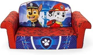 Marshmallow Furniture, Children's 2 in 1 Flip Open Foam Sofa, Nickelodeon Paw Patrol, by Spin Master