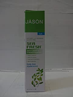 Jason Toothpaste Coq10 Sea Fresh, Pack of 2