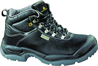 Deltaplus Men's Sault High Work Safety Shoes Black US Size 12
