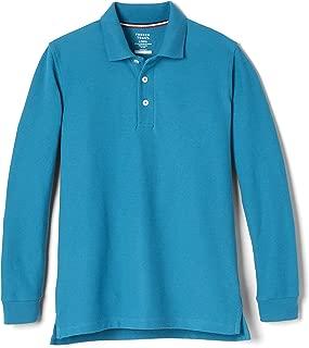 Girls' Big Long-Sleeve Pique Polo