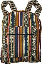 Ezhippie Unisex Hemp Festival Striped Backpack,103