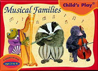 Musical Families Card Game