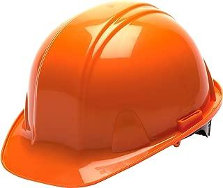 Pyramex Safety Products HP14040 Sl Series 4 pt. Snap Lock Suspension Hard Hat, Orange