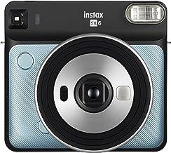 Fujifilm Instax SQ6 Cámara Analógica Instantánea Formato Cuadrado, Color Azul Agua, Square