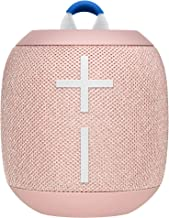 Ultimate Ears Wonderboom 2 Portable Wireless Bluetooth Speaker, Big Bass 360° Sound, Ultra-Loud Outdoor Boost, Waterproof, Floating, Pair Two Speakers for True Stereo, 13 Hours Battery Life - Peach