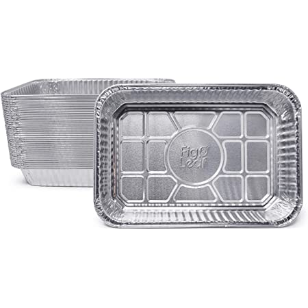 (35 Pack) Drip Pans Compatible with Weber Grills Spirit Gas Grills, Q Grills, Genesis and Genesis II LX 200 300 Series l Disposable Aluminum Foil Grease Trays l BBQ, Roasting, Baking & Cooking