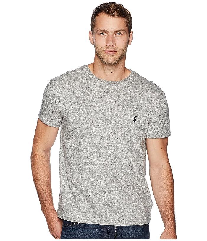 9e05fe33 Polo Ralph Lauren Short Sleeve Crew Neck Pocket T-Shirt at Zappos.com