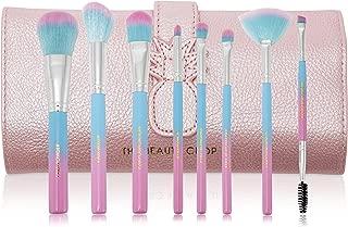 The Beauty Crop - Fineapple Makeup Brush Set | Premium Eye Brushes for Makeup & Face Foundation | Professional Cosmetics Face Brush | Blending Brush | Ombre Soft Bristles | Makeup Brush Holder